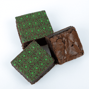Brownie with THC Massachusetts Universal Symbol Baking Sheets