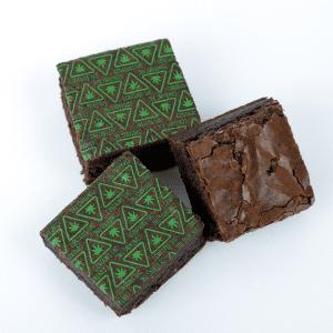 Brownie with THC Massachusetts Universal Symbol Baking Sheets