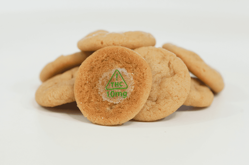 Cookie marked with Nevada 10mg Target