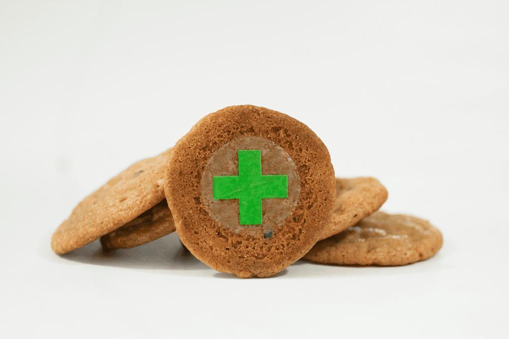 Green Cross Target for Edibles